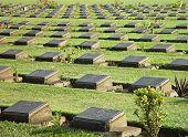 Cemetery In Kanchanaburi