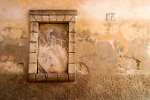 Weathered Wall Background poster