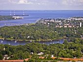 Aerial View of US Naval Academy/Annapolis