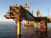 Large Oil rig
