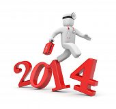Doctor run to new year. Reform of Medicine in USA