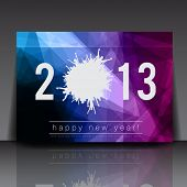 foto of boys night out  - 2013 New Year Vector Flyer Template  - JPG