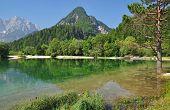 Lago Jasna, Kranjska Gora, Eslovenia