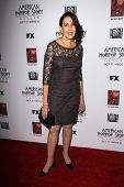 LOS ANGELES - OCT 13:  Gloria Laino arrives at the