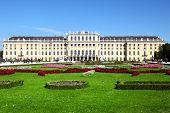 image of schoenbrunn  - Schoenbrunn Palace in Vienna - JPG