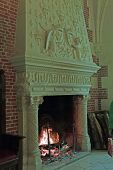 Chateau Amboise Fireplace