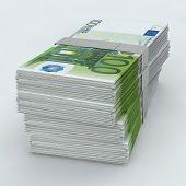 Euro Moneystack Frontal