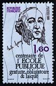 Postage Stamp France 1981 Foucault's Pendulum
