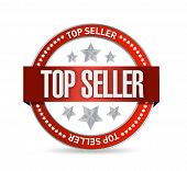 Top Seller Seal Illustration Design