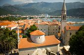 stock photo of yugoslavia  - Photo of the city of Budva - JPG
