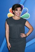 LOS ANGELES - 27 de JUL: Justina Machado no NBC TCA Summer Press Tour 2013 no Beverly Hilton H