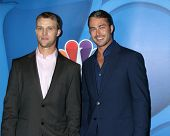LOS ANGELES - JUL 27:  Jesse Spencer, Taylor Kinney at the NBC TCA Summer Press Tour 2013 at the Beverly Hilton Hotel on July 27, 2013 in Beverly Hills, CA
