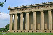 Parthenon Front Corner