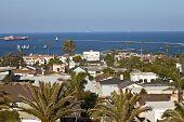 San Pedro Neighborhood Overlookin The Pacific Ocean.