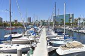 Long Beach Marina California.