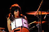 Marky Ramone Grammy awarded musician and his band performs live