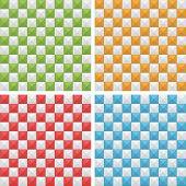 Seamless Checkered Patterns