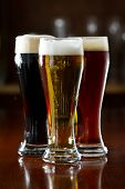 Dark, Red And Light Beer