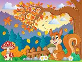 Autumn thematic image 4 - eps10 vector illustration.