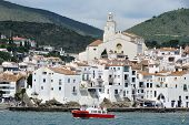 Seaside City Cadaques, Catalonia, Spain