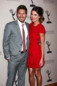 Scott Clifton and Jacqueline MacInnes Wood at the Daytime Emmy Nominees Reception presented by ATAS,