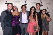 Eric Marsolf, Arianne Zucker, Shawn Christian, Camilla Banus, Blake Berris and Kate Mans at the Daytime Emmy Nominees Reception presented by ATAS, Montage Beverly Hills, CA 06-13-13