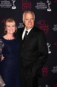 Laurette Sprang McCook and John McCook at the 2013 Daytime Creative Emmys, Bonaventure Hotel, Los An