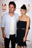 Casey Affleck, Rooney Mara at the