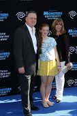 Joel Murray and family at the