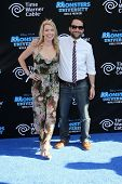 Mary Elizabeth Ellis and Charlie Day at the