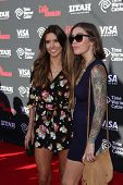 Audrina Patridge and sister Casey Patridge at