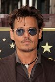 Johnny Depp at the Jerry Bruckheimer Star on the Hollywood Walk of Fame ceremony, Hollywood, CA 06-24-13