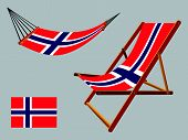 Svalbard Hammock And Deck Chair Set