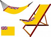 Niue Hammock And Deck Chair Set