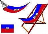 Haiti Hammock And Deck Chair Set