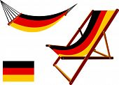 Germany Hammock And Deck Chair Set