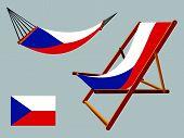 Czech Republic Hammock And Deck Chair Set