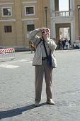 Elderly Photographer