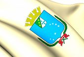 Flag Of Sao Luis, Brazil.