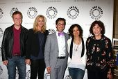 Don Roos, Lisa Kudrow, Dan Bucatinsky, Sara Gilbert and Lily Tomlin at The Paley Center Presents: An Evening With