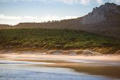 stock photo of tarifa  - dream beach of Bolonia - JPG