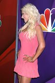 Christina Aguilera at the NBC Press Tour, Beverly Hilton, Beverly Hills, CA 07-27-13