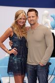 Nancy O'Dell and Keith Zubulevich at the