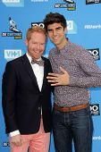 Jesse Tyler Ferguson, Justin Mikita at DoSomething.org And VH1's 2013 Do Something Awards, Avalon, H