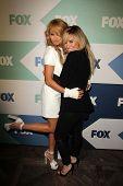Paulina Rubio, Demi Lovato at the Fox All-Star Summer 2013 TCA Party, Soho House, West Hollywood, CA 08-01-13