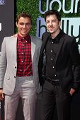 Dave Franco and Christopher Mintz-Plasse at the 15th Annual Young Hollywood Awards, Broad Stage, Santa Monica, CA 08-01-13