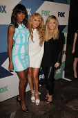 Kelly Rowland, Paulina Rubio, Demi Lovato at the Fox All-Star Summer 2013 TCA Party, Soho House, West Hollywood, CA 08-01-13