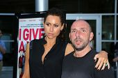 Minnie Driver and Dan Mazer at the
