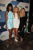 Kelly Rowland, Paulina Rubio and Demi Lovato at the Fox All-Star Summer 2013 TCA Party, Soho House, West Hollywood, CA 08-01-13