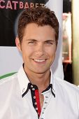 Drew Seeley at L.A.'s Feline Rescue Center's
